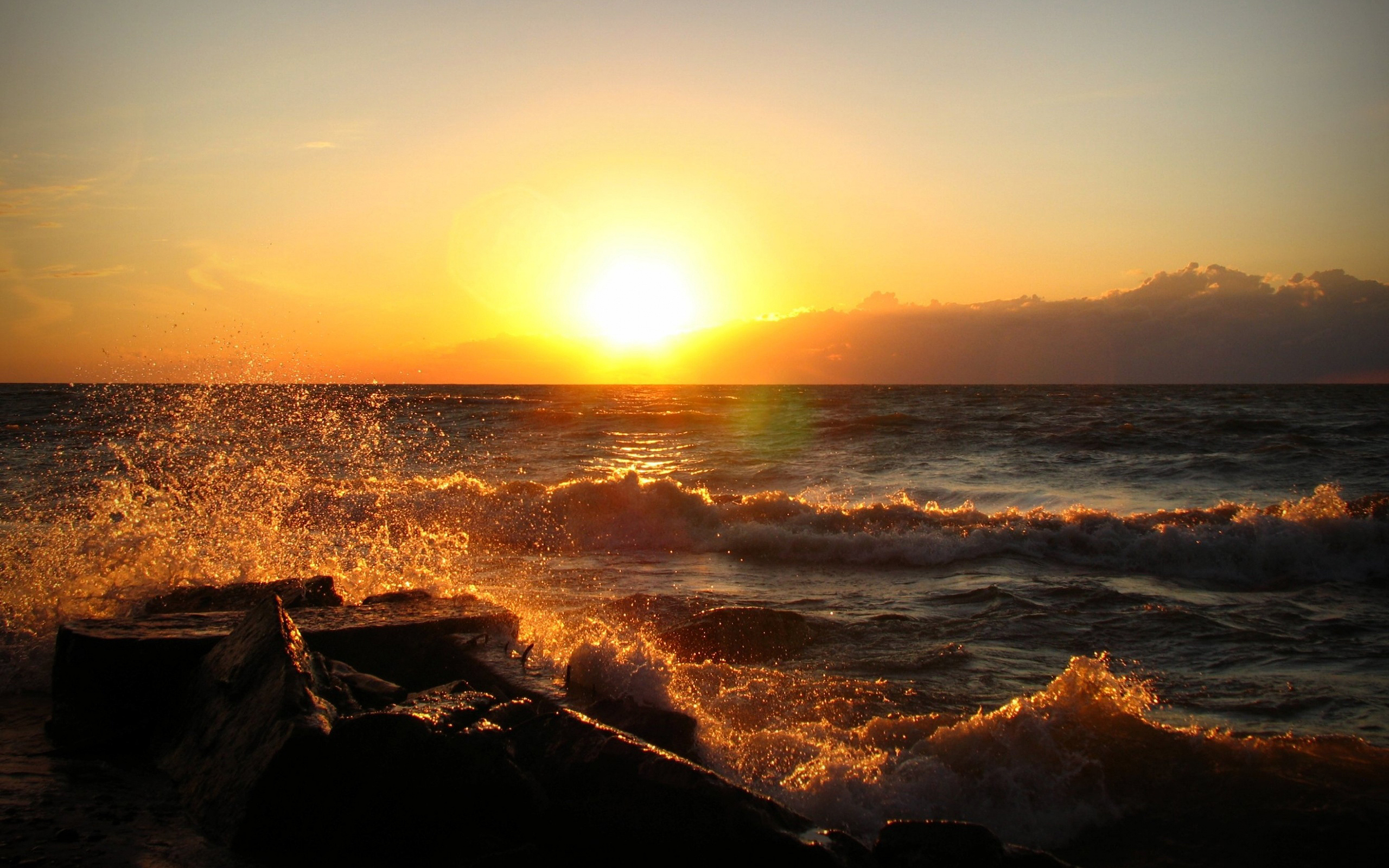 sunset images ocean