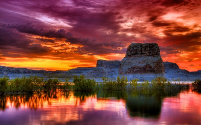 sunset images scenery