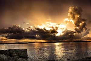 sunset images skyline
