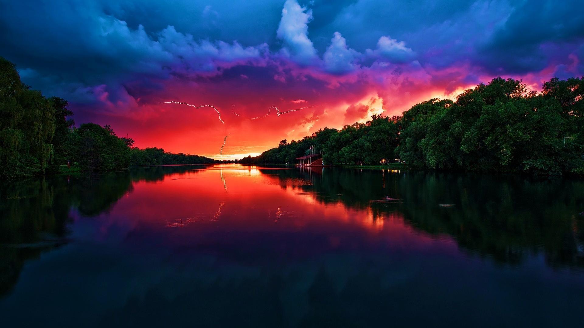 sunset pics wallpaper hd