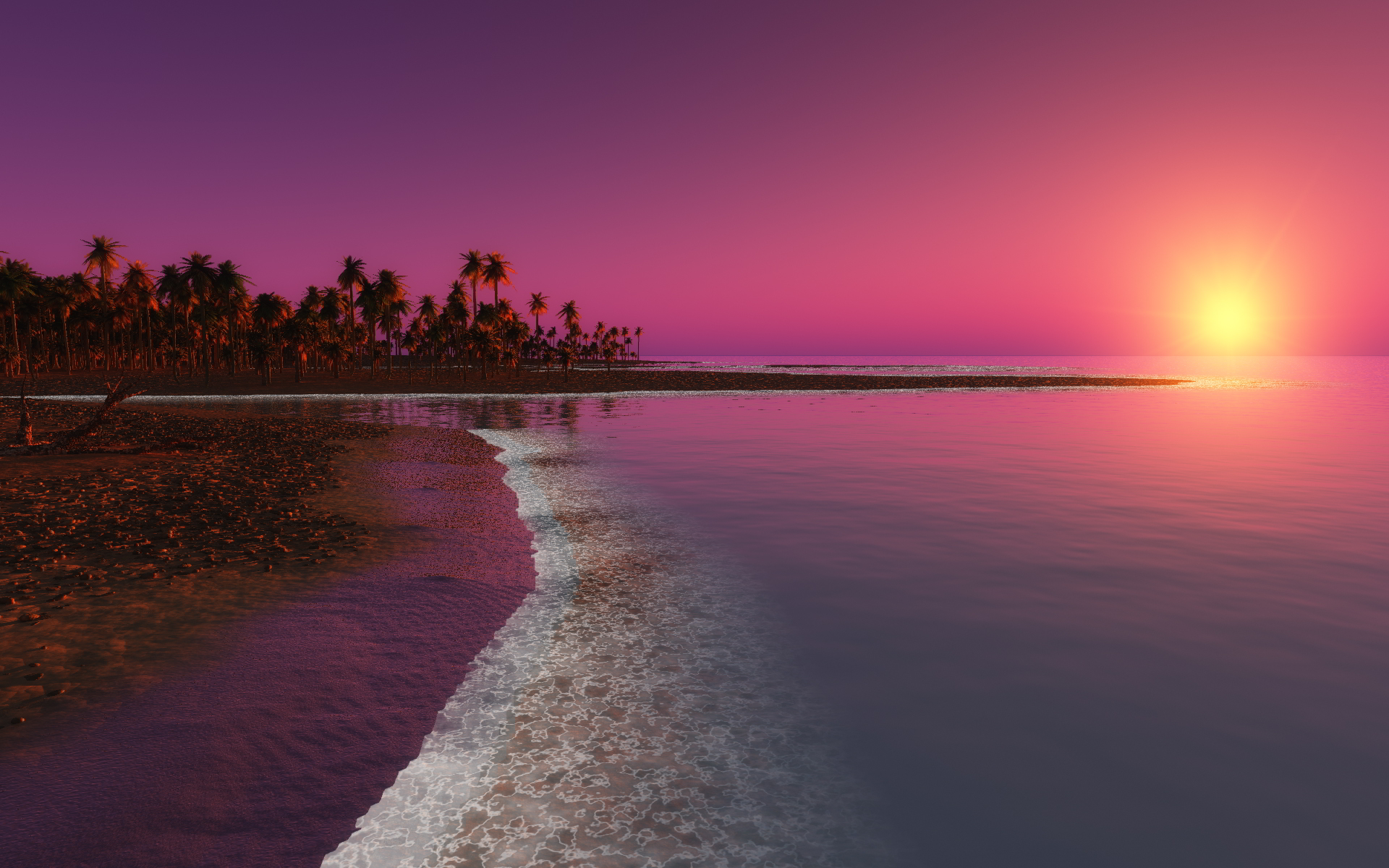 sunset pictures fantasy