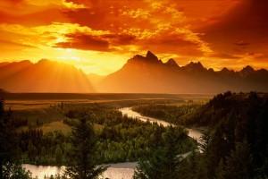 sunset wallpapers landscape