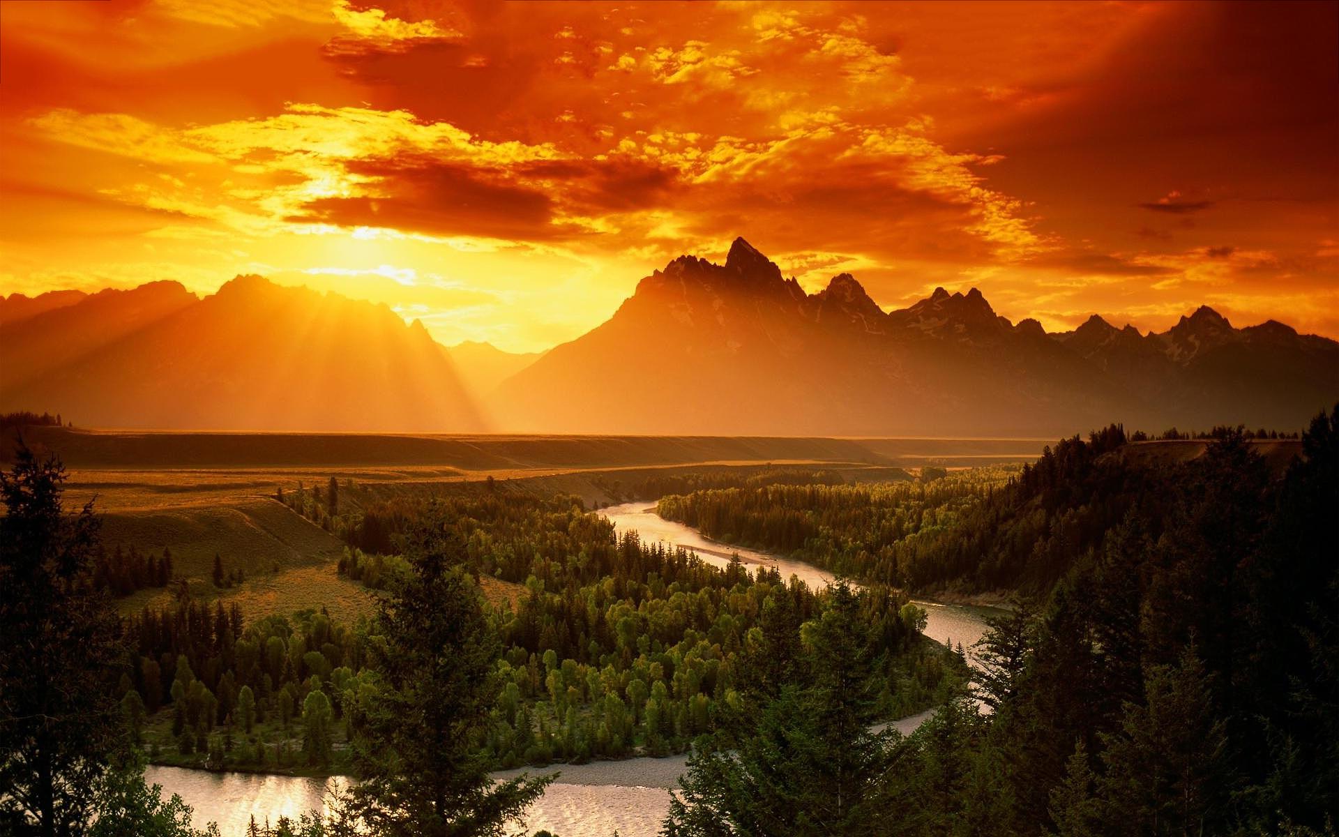 Sunset Wallpapers Landscape - HD Desktop Wallpapers