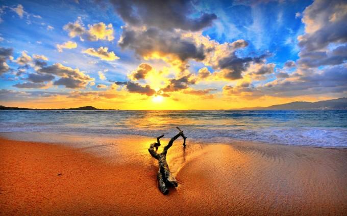 sunset wallpapers ocean