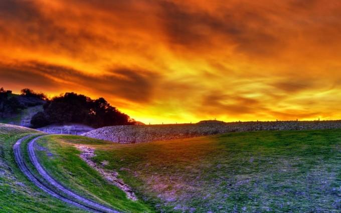sunset wallpapers stunning