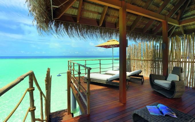tropical resort nature