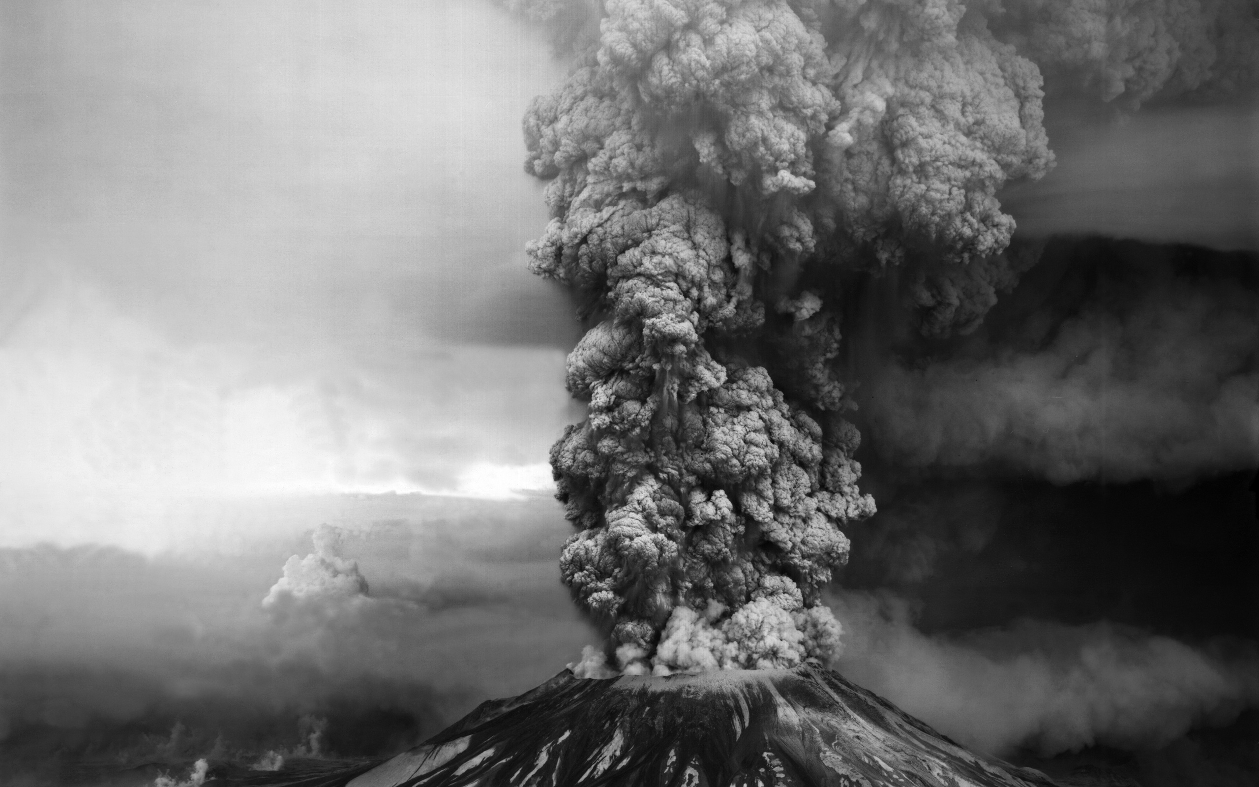 volcano smoke wallpaper - hd desktop wallpapers | 4k hd