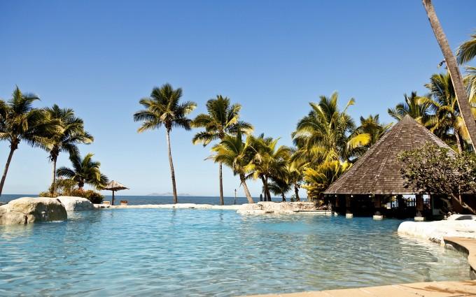 wallpaper island paradise