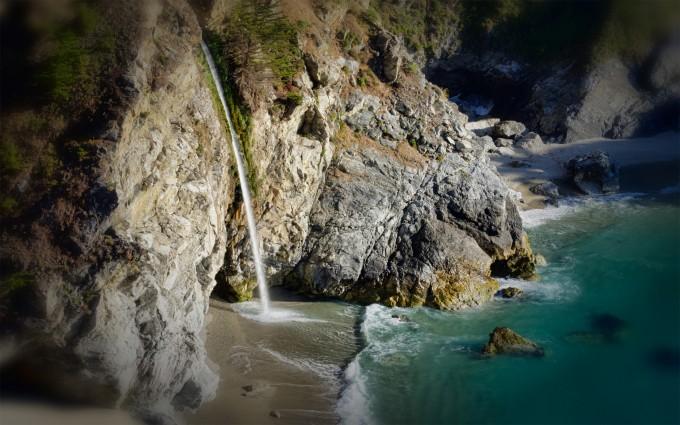 waterfall hd wallpaper