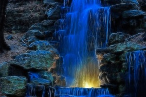 waterfall scenery wallpaper