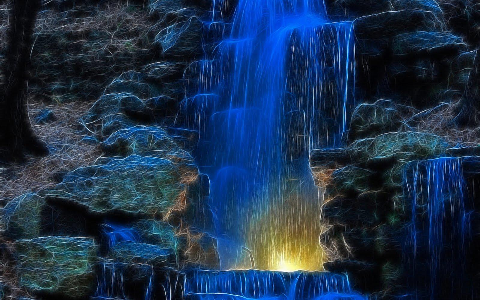 waterfall scenery wallpaper