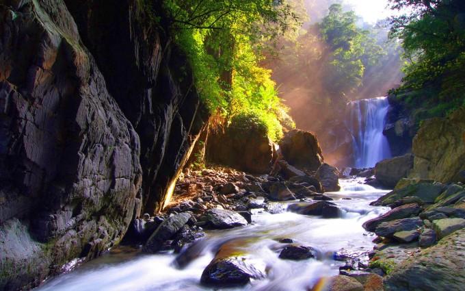 waterfall wallpaper beautiful