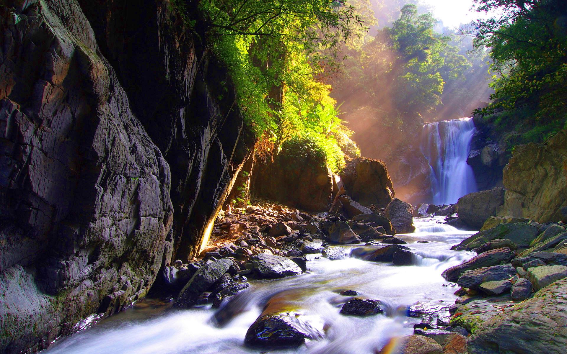 Waterfall Wallpaper Beautiful Hd Desktop Wallpapers 4k Hd