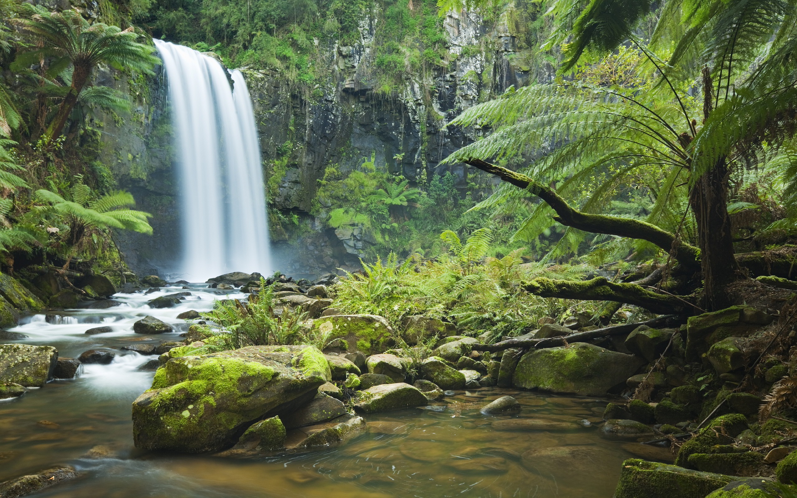 waterfall wallpaper widescreen