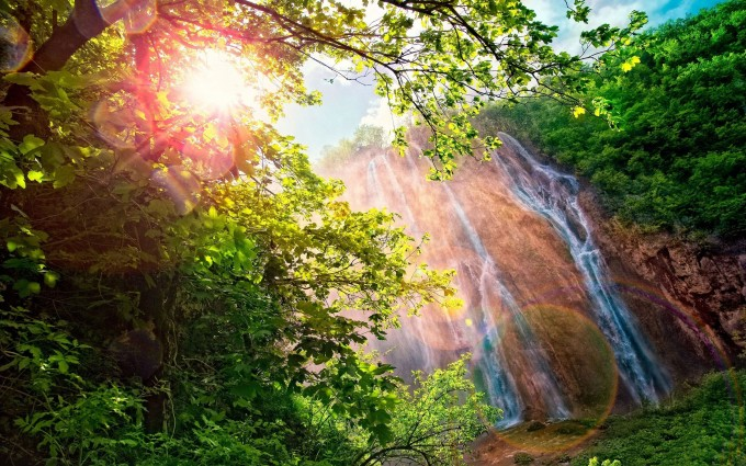 waterfall wallpapers uhd