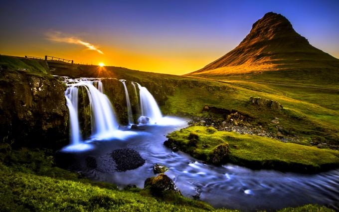 waterfalls wallpaper amazing