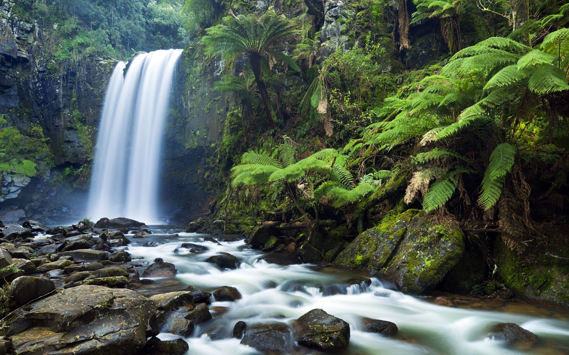 waterfalls wallpaper awesome aa