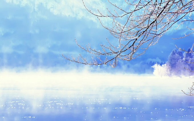 winter background for desktop