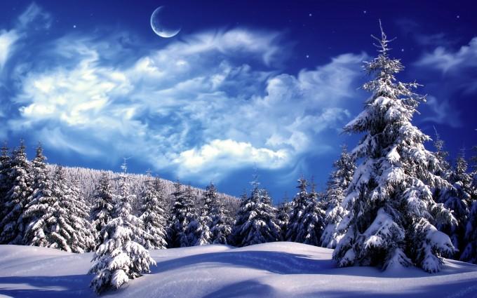 winter backgrounds for desktop