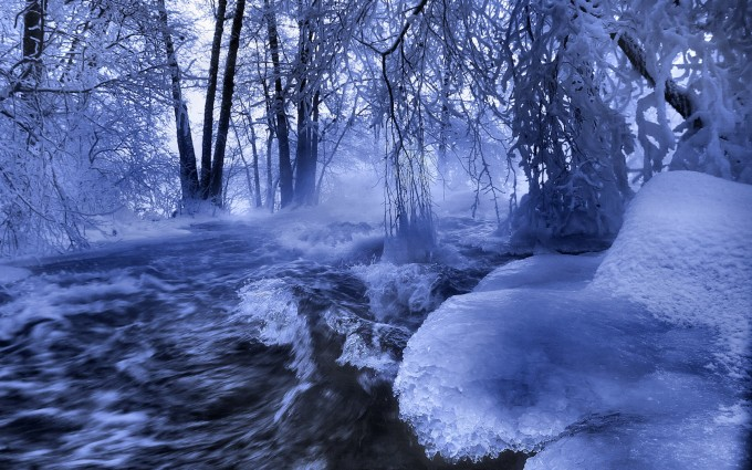 winter snow wallpapers cool