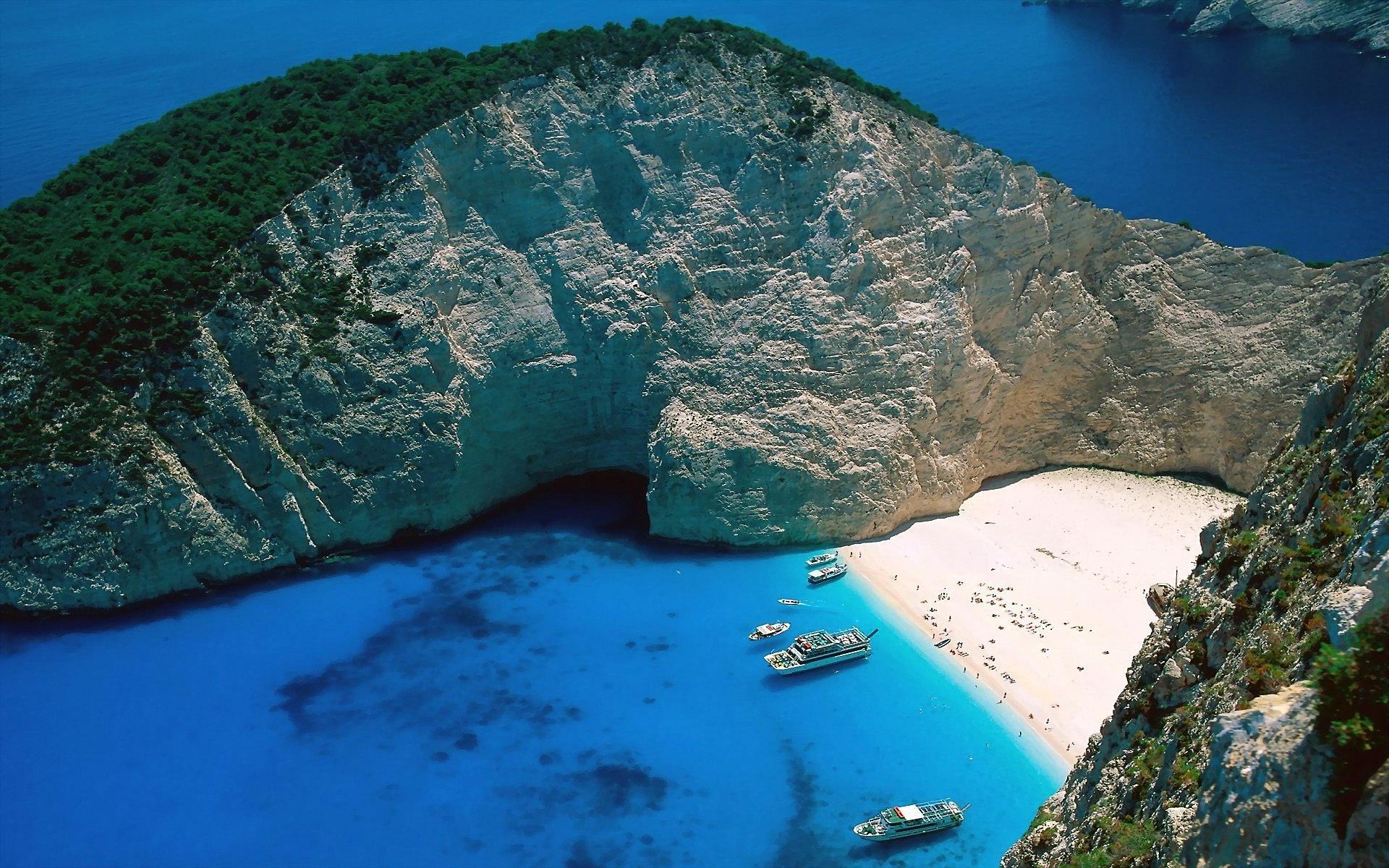 Wonderful Beach Hd Desktop Wallpapers 4k Timeline Greece Wallpaper