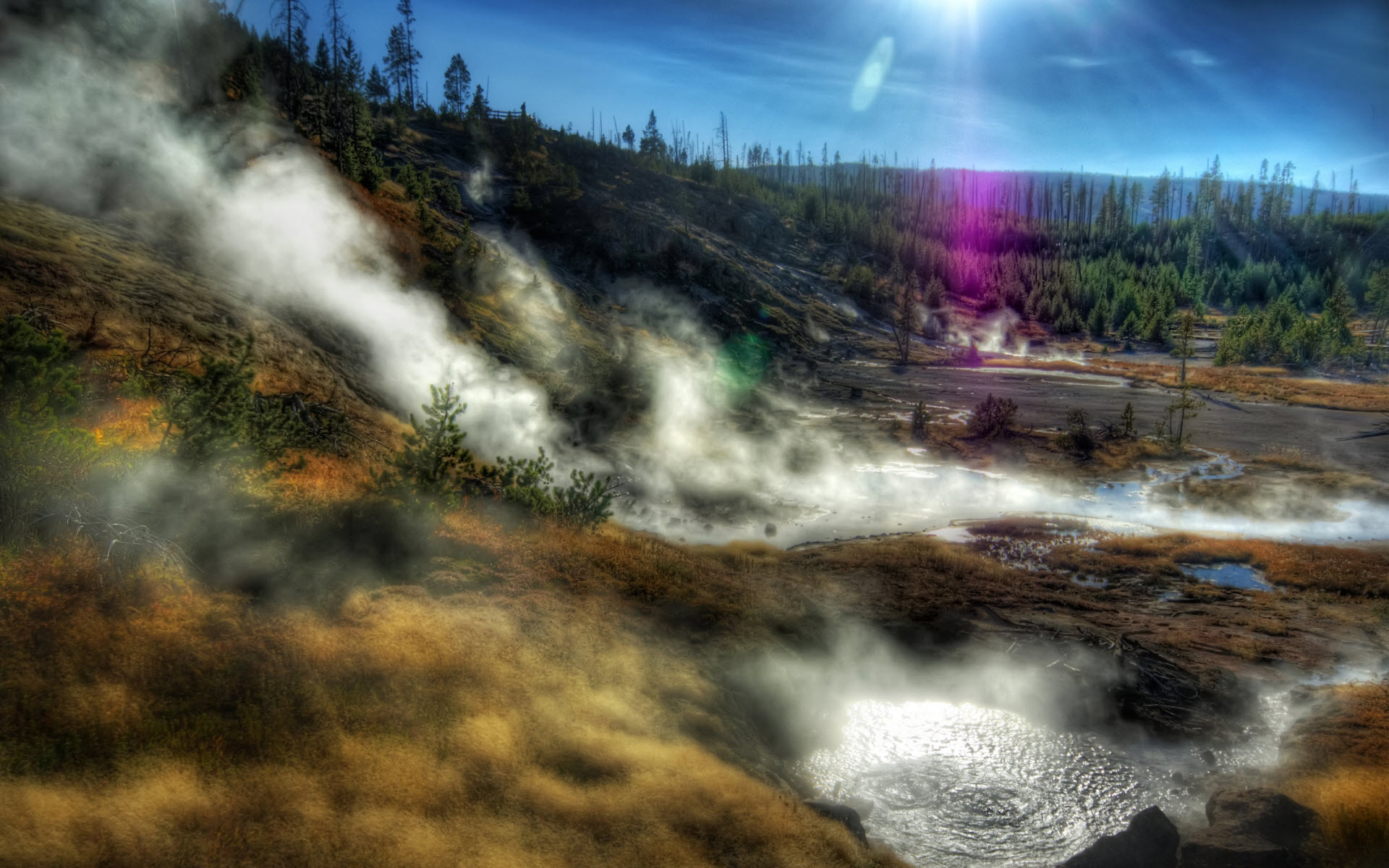 yellowstone wallpaper aa