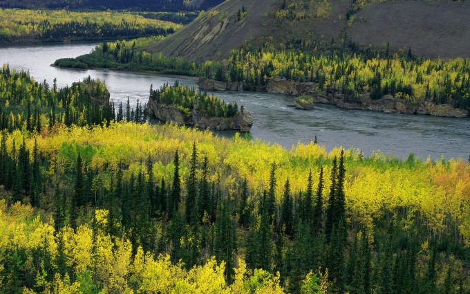 yukon wallpaper landscape nature