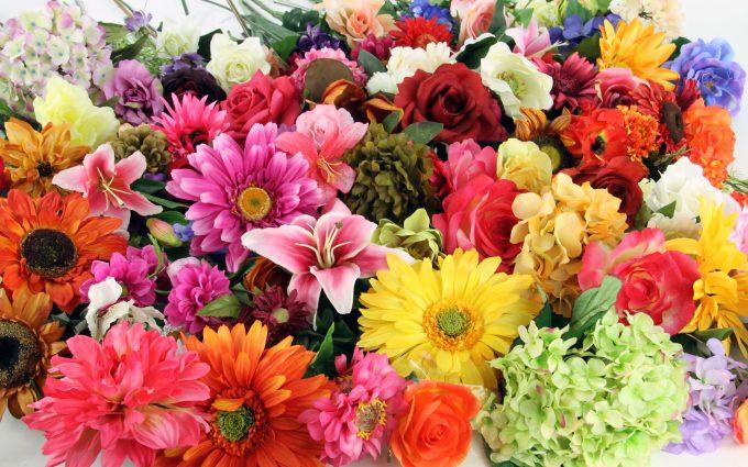 artificial flowers hd