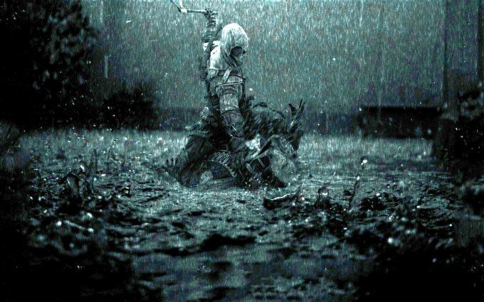 assassins creed rain art