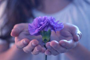 beautiful flowers hd girl