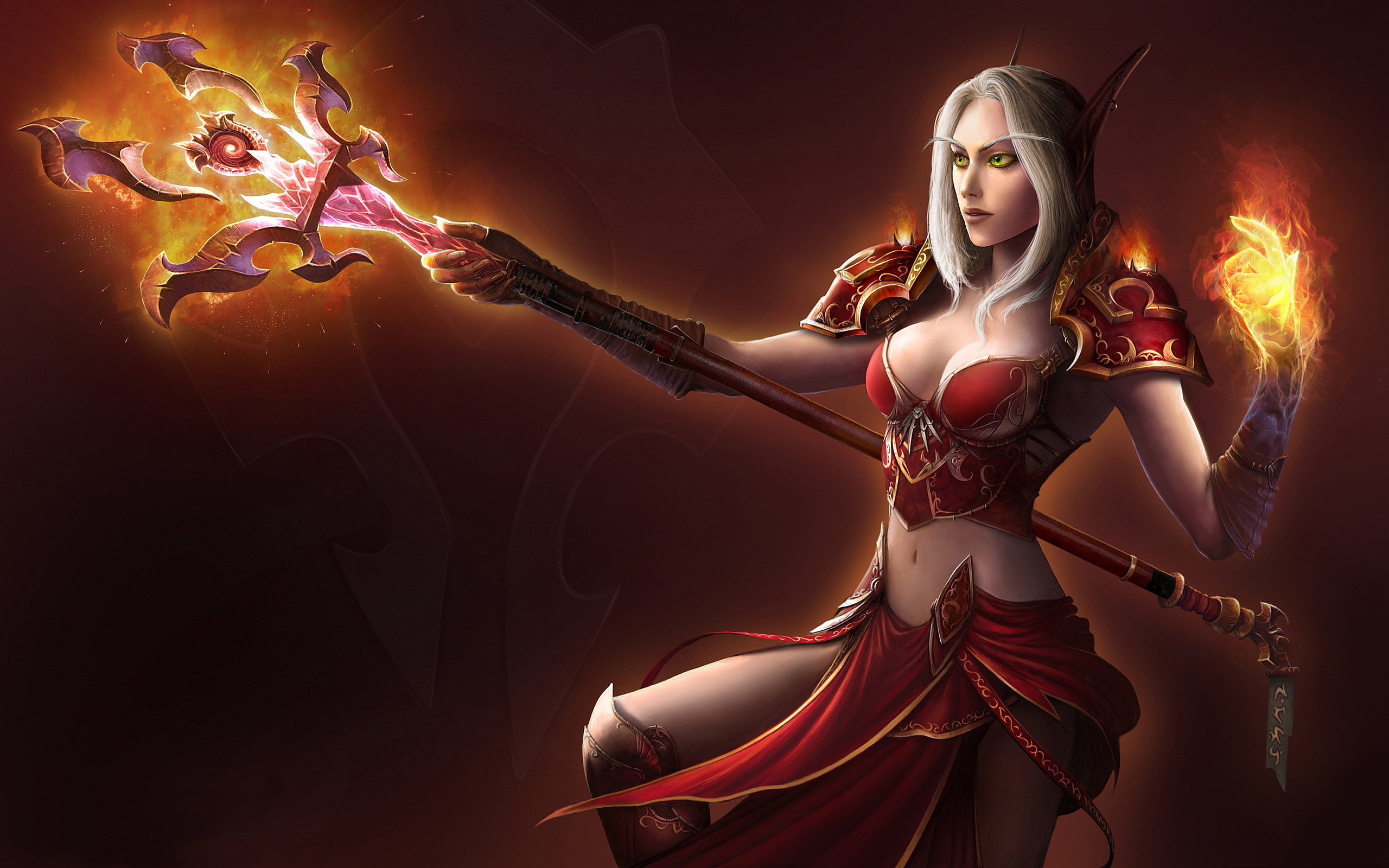 blood elf warcraft