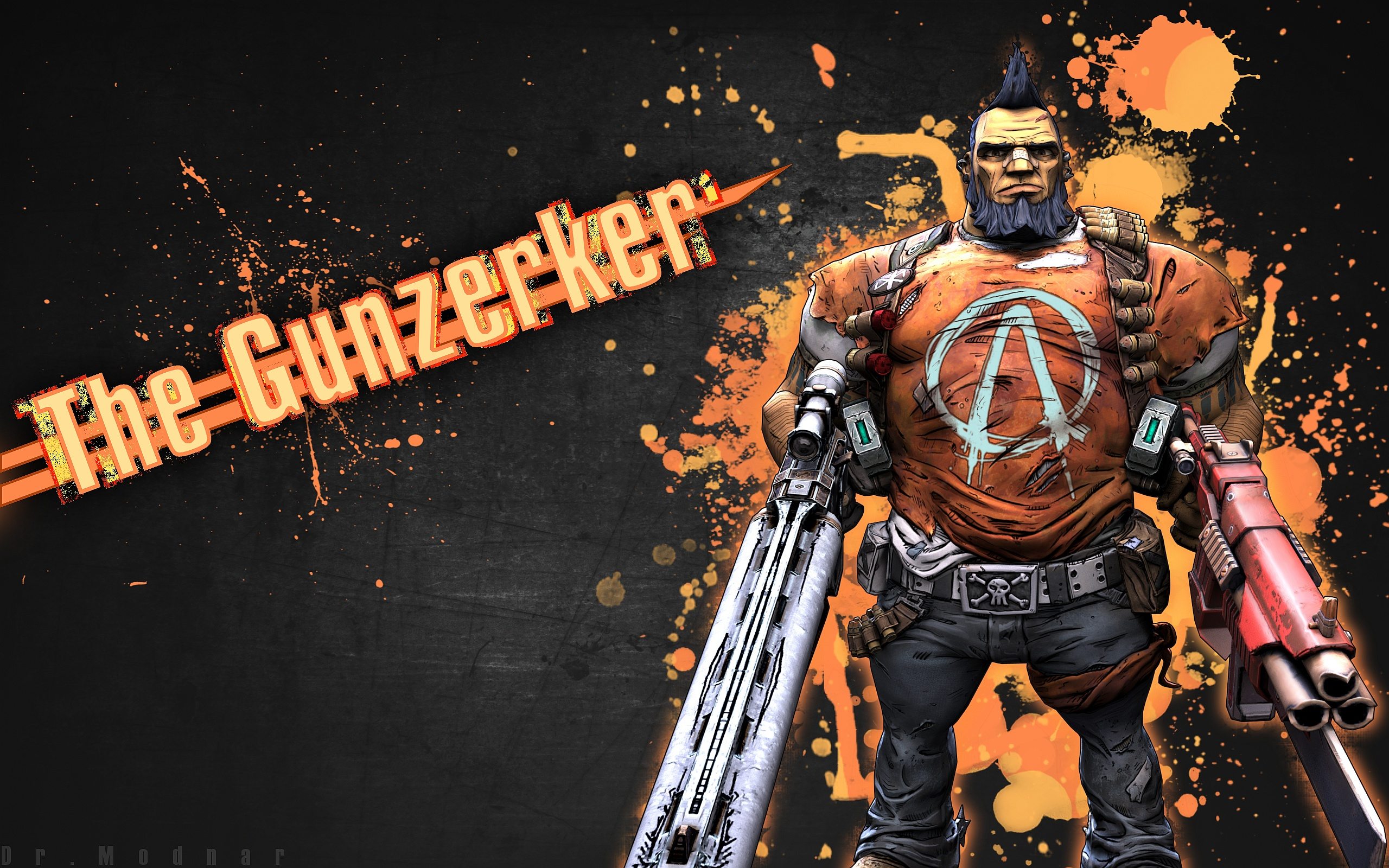 Borderlands 2 Gunzerker - HD Desktop Wallpapers