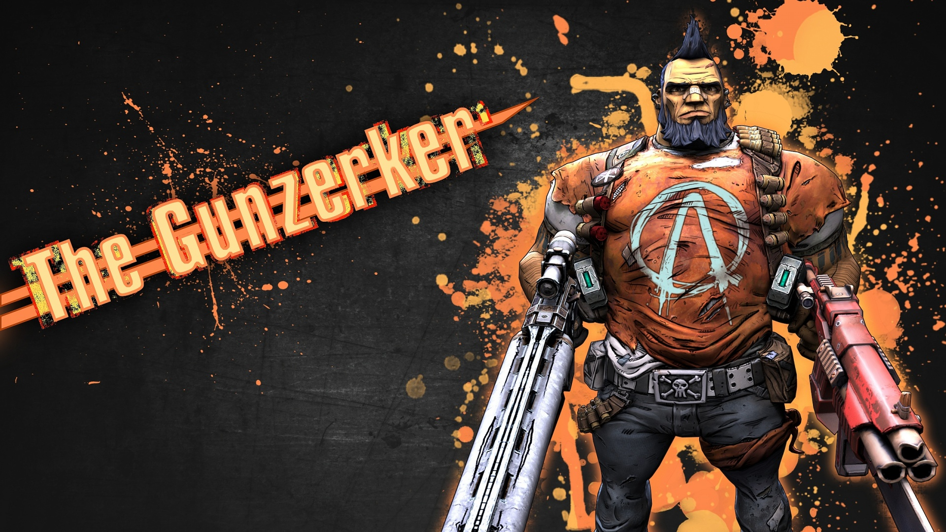 borderlands 2 wallpaper A3