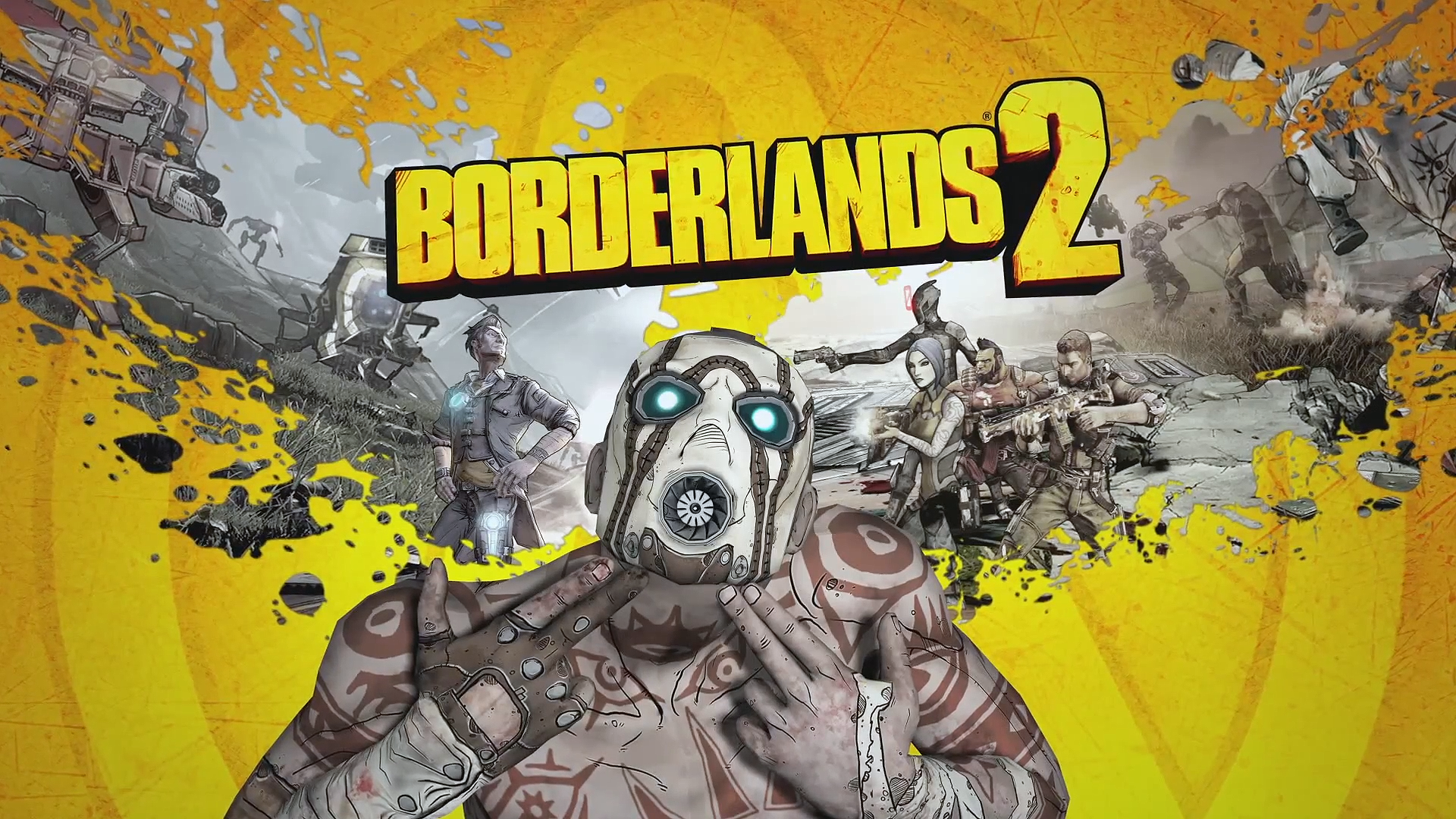 Borderlands 2 Wallpaper A4 - HD Desktop Wallpapers