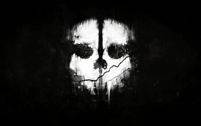 call of duty ghosts mask wallpaper