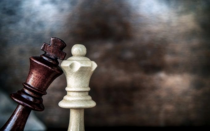 chess game love king queen