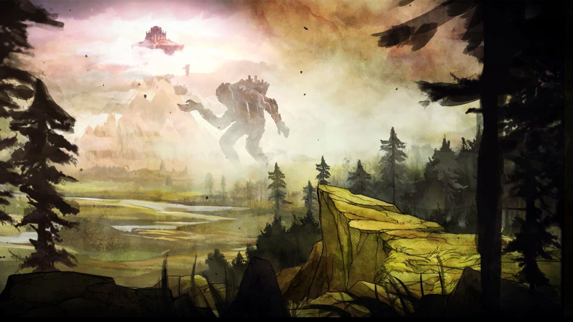child of light desktop backgrounds