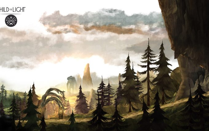 child of light desktop wallpaper