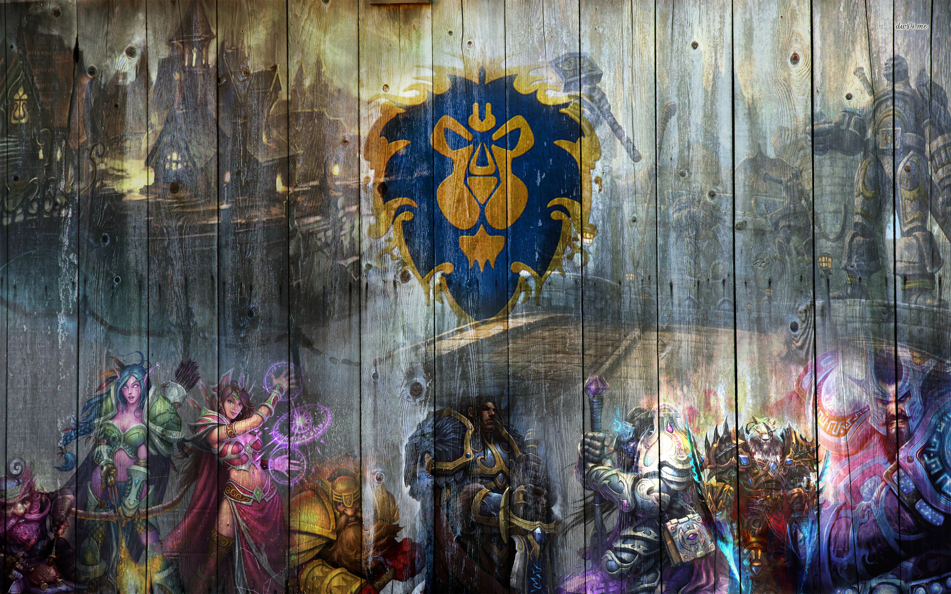 cool world of warcraft backgrounds