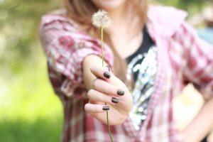 dandelion wallpaper girl