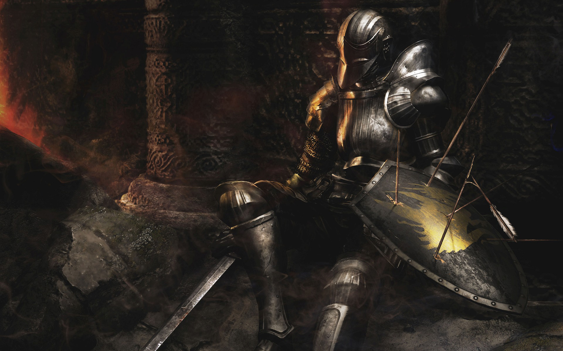 dark souls 2 wallpaper A3