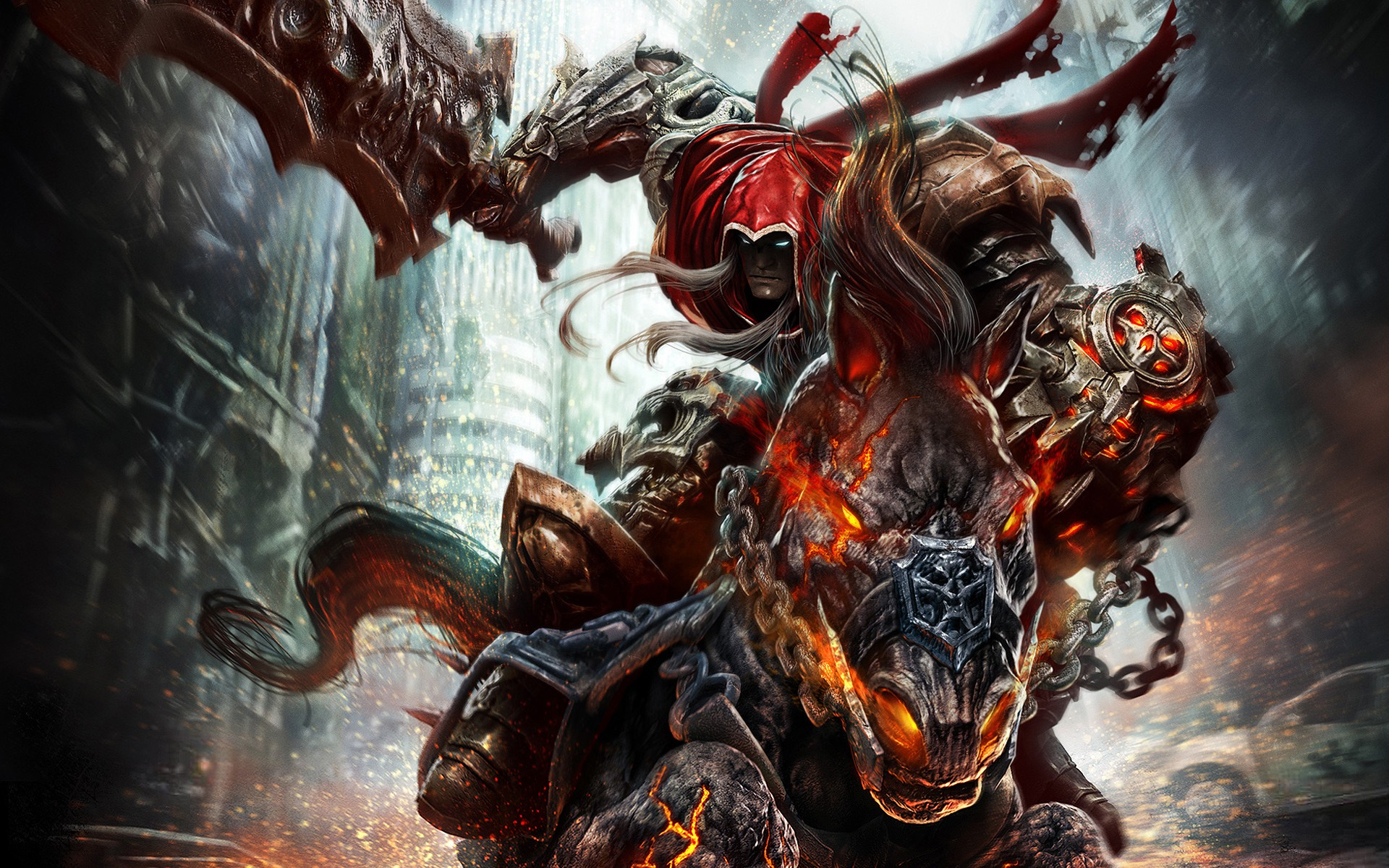 darksiders wallpaper cool