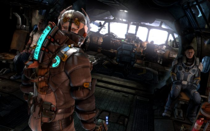 dead space background