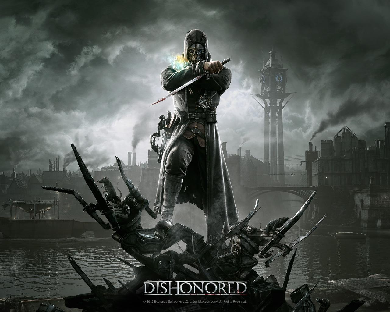 dishonoured wallpaper