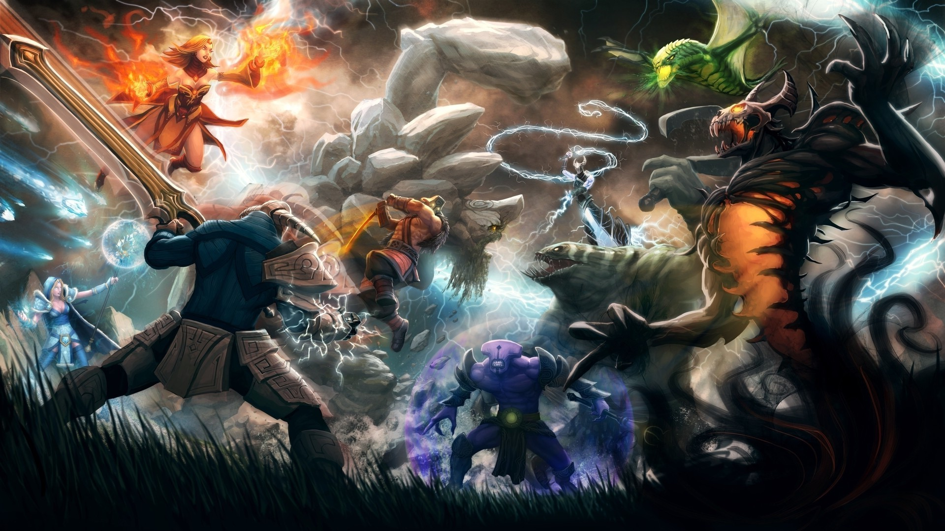 dota background