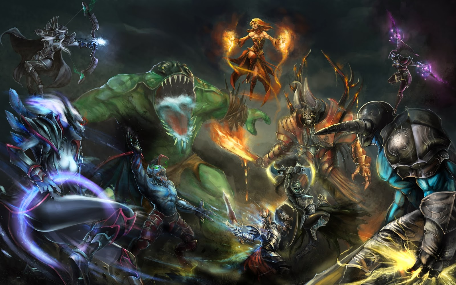 dota heroes wallpapers hd desktop wallpapers 4k hd