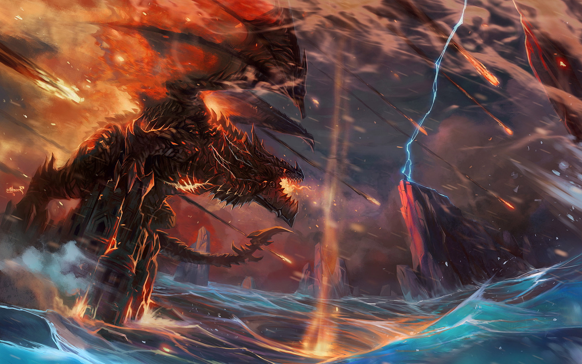 dragon wow art