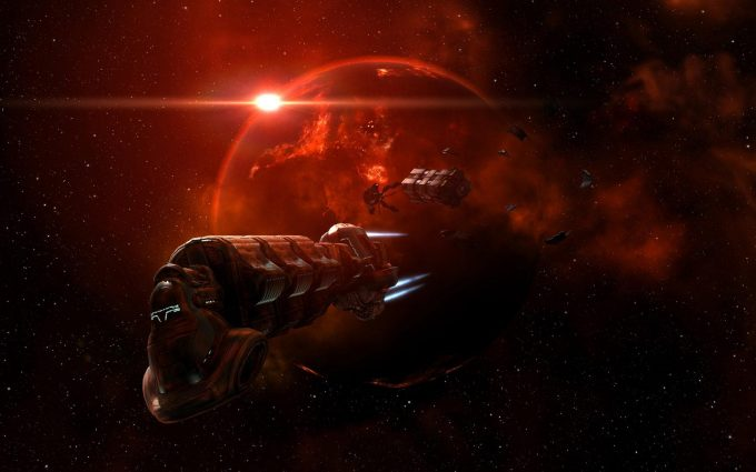eve online wallpapers A4