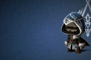 ezio sackboy wallpaper