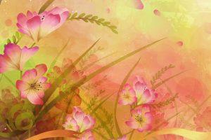floral wallpaper A1